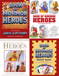 * Book of Mormon Heroes COMBO PACK