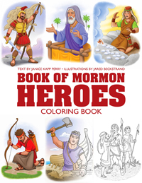 * Book of Mormon Heroes Coloring Book