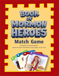 * Book of Mormon Heroes Match Game