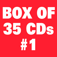 Box of 35 CDs #1