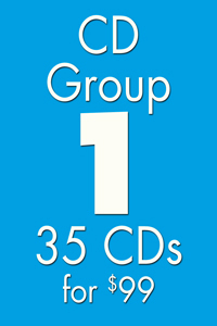 CD GROUP 1: 35 CDs