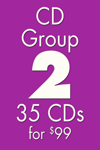 CD GROUP 2: 35 CDs